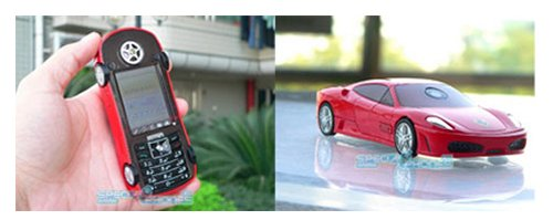 Ferrari mobile phone looks like a toy