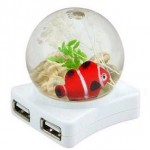 Four-way USB Hub…with a fish