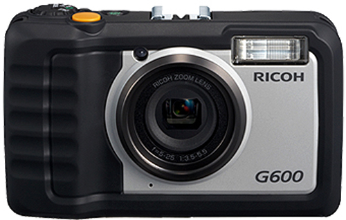 Ricoh G600 outdoor digital camera