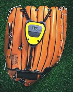 Measure ball speed with the Glove Radar