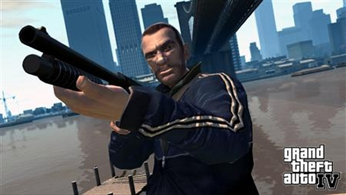 Grand Theft Auto IV launch