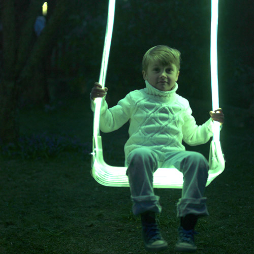 Sense Light Swing: playgrounds go high tech