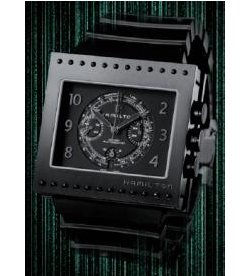 The Hamilton Code Breaker watch
