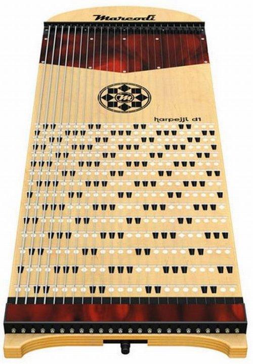 Harpejji: The guitar & the Piano got it on