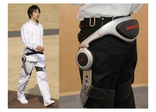 Honda develops walking assist device for the elderly
