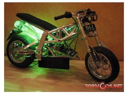 Motorcycle case mod is a beauty