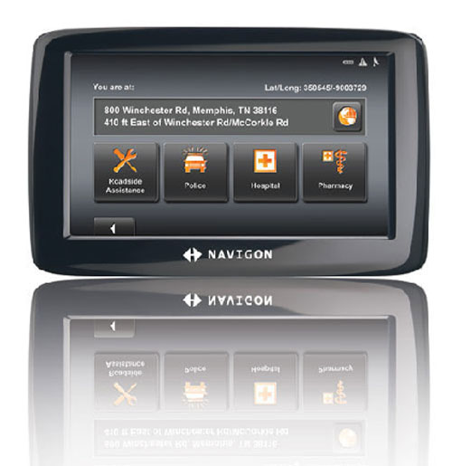 Navigon 2100 GPS Unit