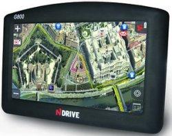 NDrive G800 GPS: Real photography Navigation