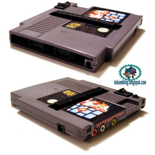 Full NES system built into a game cartridge
