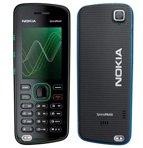 Nokia 5220 XpressMusic phone