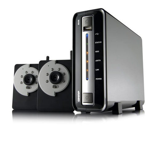 NVR-102 Network Surveillance kit from QNAP