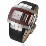 The Opus 8 watch with pin-art display