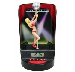 The Pole Dancer alarm clock