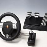 Fanatec shows off Porsche-licensed video gaming gear