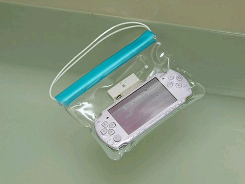 Waterproof PSP bath bag will make you wrinkly
