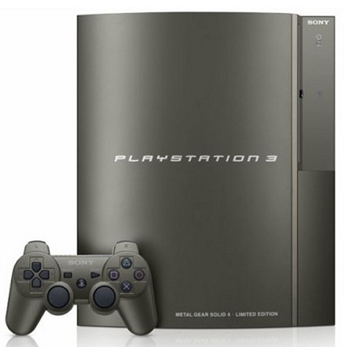 Sony Playstation 3 Metal Gear Solid 4 console coming to the U.S.