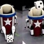 Crazy trash can dancing bot is slightly insane
