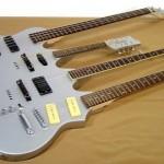 World's first quadruple-neck guitar
