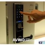 Samsung's touchscreen digital door lock