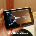 TG Sambo touchscreen PMP