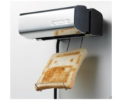 The Zuse toaster makes toast fun