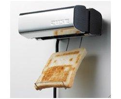 The Zuse toaster makes toast fun