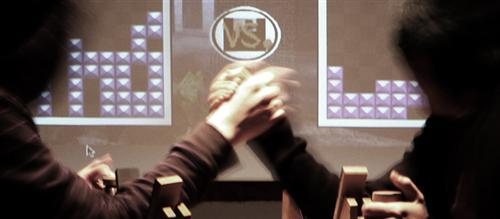 Tetris + arm wrestling = Tresling