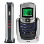 Vtech IS6110 cordless phone with QWERTY keypad & IM
