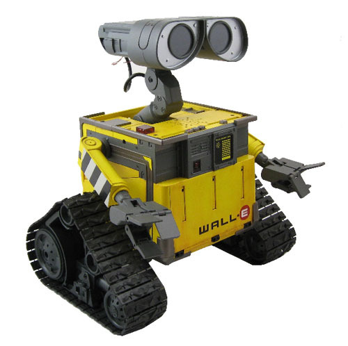 ultimate wall e robot toy is good for geeks and kids alike. Black Bedroom Furniture Sets. Home Design Ideas