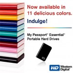 Western Digital glams up My Passport USB drives
