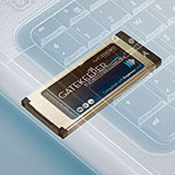 Yoggie ExpressCard Gatekeeper Pro Card for notebook security