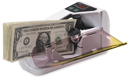 AccuCounter V30 portable cash counter