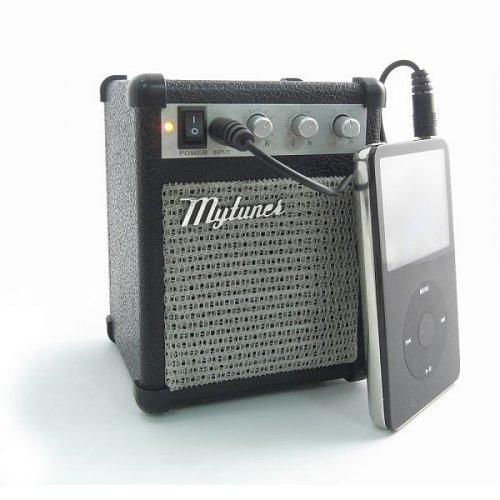 Guitar amp iPod speaker