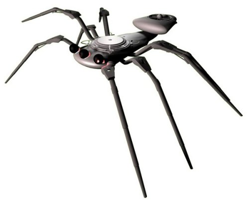Spider robots becoming a reality