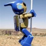 Evolta Robot scales Grand Canyon cliff