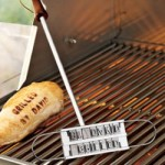 Brand your food With a BBQ branding iron