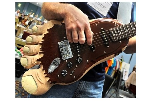Bigfoot rocks: The Sasquatch guitar