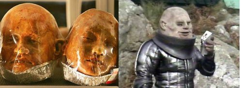 Baked bread now looks like Doctor Who villian