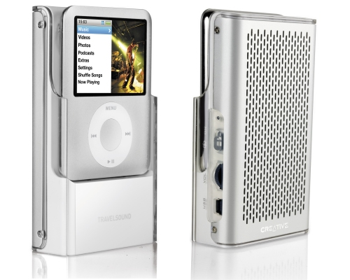Creative Travelsound portable speaker for the iPod nano