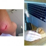 MacBook Air can cut your flesh, slices bread
