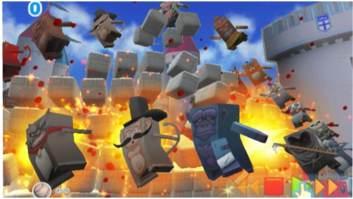 EA creates Boom Blox video game with Steven Spielberg for the Nintendo Wii