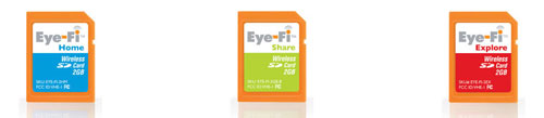 Eye-Fi SD Cards