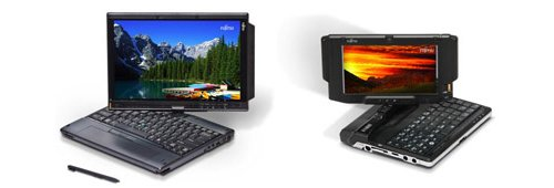 Fujitsu U810 and T2010 Tablet PCs now available