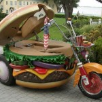 The Hamburglar's getaway vehicle