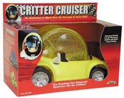 Hamster powered toy car looks fun, fast