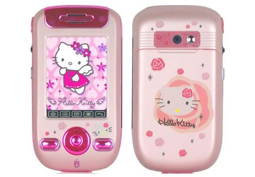 Hello Kitty phone includes Speakers System