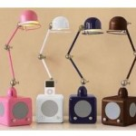 iPod Lamps combine music, with a lamp…