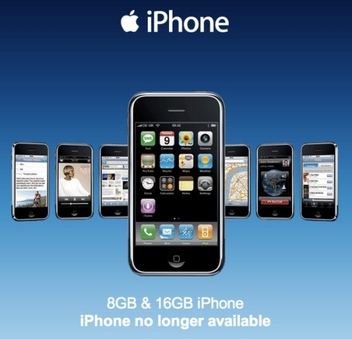 Apple iPhone no longer available in the UK until new 3G phone is released