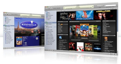 iTunes will sell movies on the same day as the DVD release
