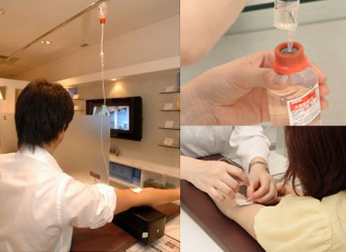 IV Drip Cafes emerge in Japan